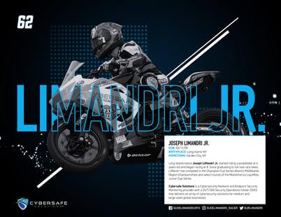 Joseph LiMandri Jr. Racing Hero Card