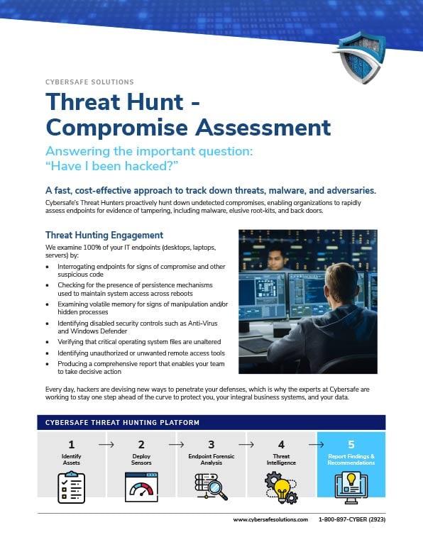 Threat Hunt - Compromise Assessment