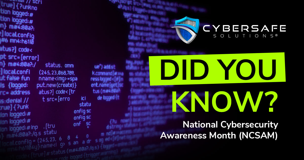The Cybersafe Second – Fun Fact #5