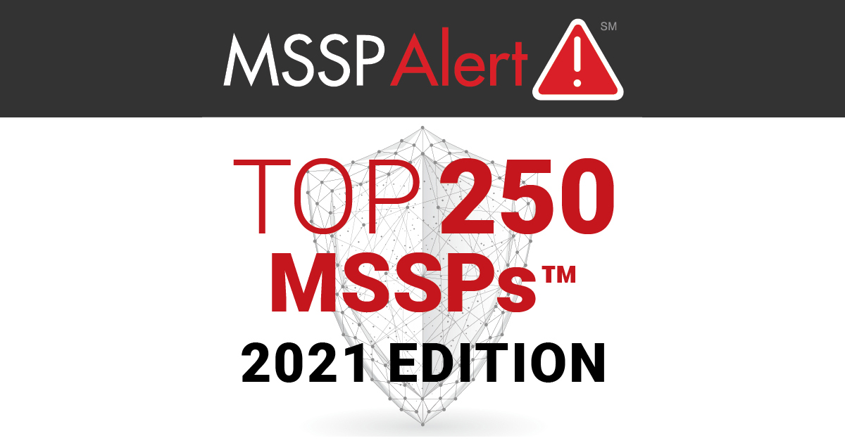 [Press Release] Cybersafe Solutions Named to MSSP Alert's Top 250 MSSPs List for 2021